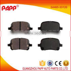 front wholesale brake pads for toyota camry 04465-33120