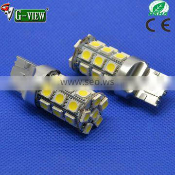 New 27SMD 5050 auto led bulb 7440 7443 led auto lamp with 12 months warranty