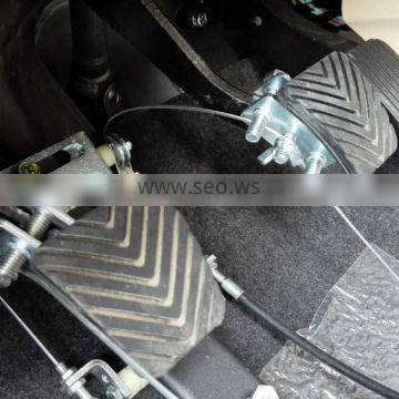 foot controls are installed in the passenger side of a Driving Instructors Motor Vehicle