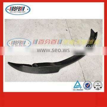 2009-2011 V Type carbon fiber lip front bumper FOR BMW E90 M3 Style made in China