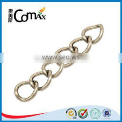 Hardware Bag Accessories Silver Metal Chain