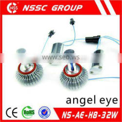 2014 NSSC best selling product H8 angel eyes with high power 32W CE ROHS
