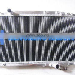 FULL ALUMINUM RACING COOLING RADIATOR FOR HOLDEN COMMODORE VY 02-03 V6 (1 oil cooler)