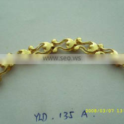 ShenZhen hardware metal accessories fancy gold chain for bag handles