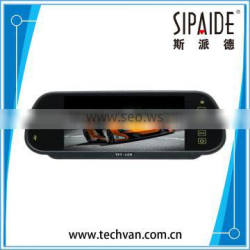 SPD54 7 inch TFT LCD screen Bluetooth+USB Car Rearview Mirror Car Monitor Car reversing parking monitor Quality Choice