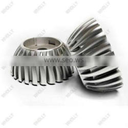 customized clear anodized surface finish aluminum die casting LED Bulb heat sink