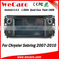 Wecaro WC-JC6235 Android 4.4.4 car radio touch screen for chrysler sebring dvd gps player 2007 - 2010 TV tuner