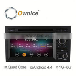 Quad Core Rk3188 1.6GHz Android 4.4 up to android 5.1 Car DVD GPS player for Audi A4 S4 player with Wifi Bluetooth
