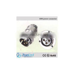 40m automation equipment plug,power connector,cable plug
