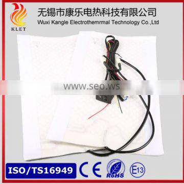 Car seat heater with five position switch approved TS16949 certification