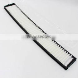 CHINA WENZHOU FACTORY SUPPLY HIGH QUALITY CABIN FILTER CU6724/64311000004/64318361899/64319216591 WITH PLASTIC FRAME