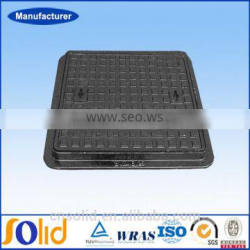755X755mmB125 heavy duty 500mm,800mm,1000mm EN124 square ductile iron manhole covers