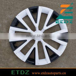 14inch WHITE/Black Color Car Wheel Cover Wheel Cap