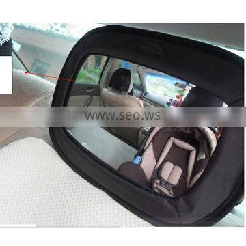 acrylic and large size baby car mirror baby back seat mirror