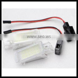 led license plate light for skoda fabia/octavia/roomster/superb 7000k led number plate interior reading light