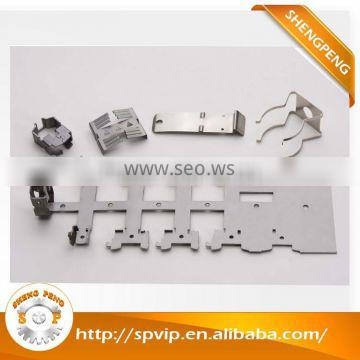 Custom Multi-Slides Press Metal stamping parts for Clips, Flat Springs, Battery Contacts