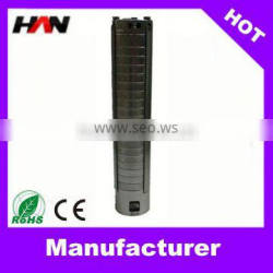 Full stainless steel high flow solar water pump 3hp