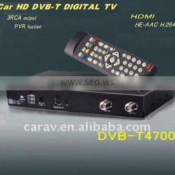 3RCA output ,PVR function dvb-t car box