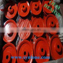 customized iron casting pulley