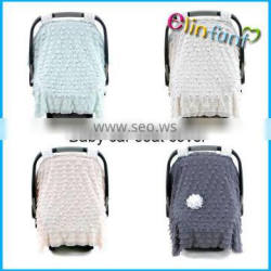 Hot sale 100% cotto baby car seat cover