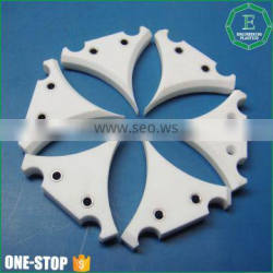ISO standard engineering plastic cnc machining products customized teflon plastic ptfe cnc parts
