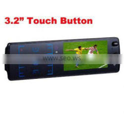 Car radio with 3.2 inch touch screen