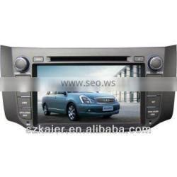 "8"" Car GPS navigation DVD player for Nissan New Sylphy with 8CD,IPOD,BT,TV,and IPHONE menu"