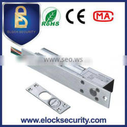 Fail safe drop bolt lock,electric bolt door lock 12V with time delay function