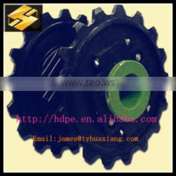 hdpe /uhmwpe/polypropylene plastic gear and profiled for Engineering parts