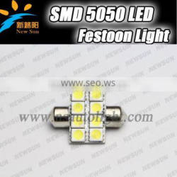 High Power 3W C REE XPE Can bus Error Free c5w 31mm Festoon LED Light Bulbs Map Dome Interior reading Lights