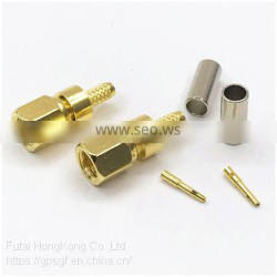 Excellent quality SMC Female Connector for RG174 Cable