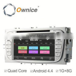 Quad core Android 4.4 Ownice car video player For Ford Focus 2011 Built-in Wifi 800*480 support 3G