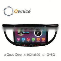 "10.2"" Pure Android 5.1 quad core car mulitmedia player for CRV 2014 built in wifi HD 1024*600"