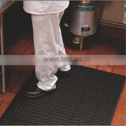 Easy to clean with bone drainage hole workshop bar gym basketball court rubber mat