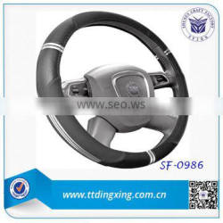 new style fashionable PU heated car steering wheel covers from factory