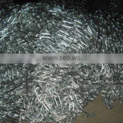 galvanized large link chain (manufacturer)