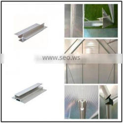 aluminum extrusion profiles, Greenhouse Accessories, mill finished