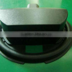 5round shaped vacuum formed plastic light cover.