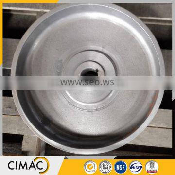 Hot selling top quality cheap cast forged iron rope wheel