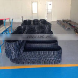 rubber tracked 450*73.5*LINKS NUMBER, High Quality Rubber track,