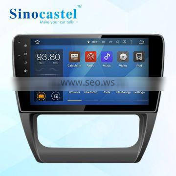 VW DVD Car OEM Audio Navigation Entertainment System With 1024x600 HD Display 10.1 Inch Capacitive Touch Screen For Sagitar 2014