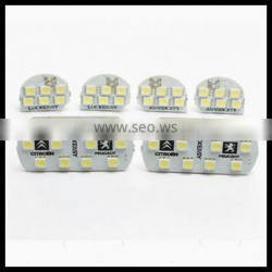 LED Reading Light For Peugeot 206 307 408 Full Set