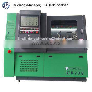 CRDI TESTER MACHINE DIESEL FUEL PUMP TEST BENCH CR738 with cambox for eui eup