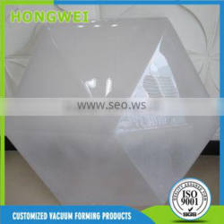 customized vacuum forming sand blast PC lamp shade manufacturer