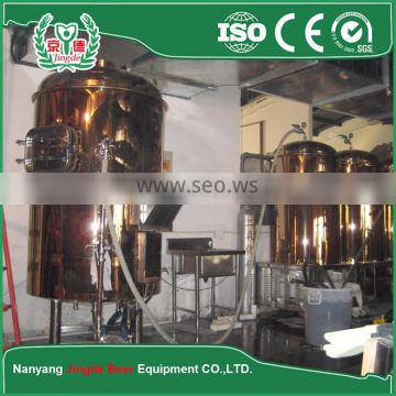 The average daily output 5000 L beer brewing equipment