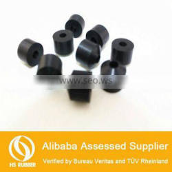 cone shape epdm silicone nbr rubber stopper with hole