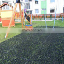 rubber grass mat for playground