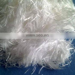 Chopped Strands of high silica yarn/high silica