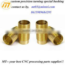 custom made cnc brass bushing