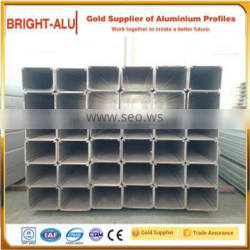 Square,customized, flat, oval,round, different shapes and T3 - T8 temper and different diameter anodized aluminum tube
